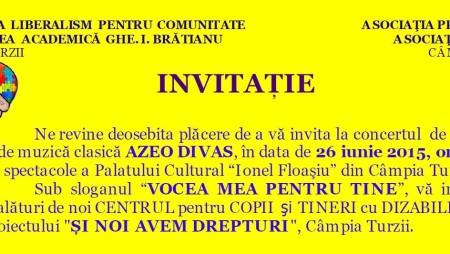 Debut AZEO DIVAS la Campia Turzii – Vocea mea pentru tine