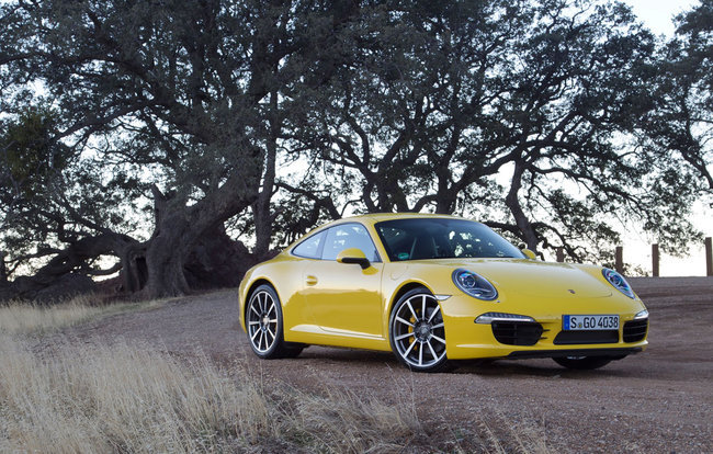 Anvelope de iarna pentru Porsche 911 Carrera S