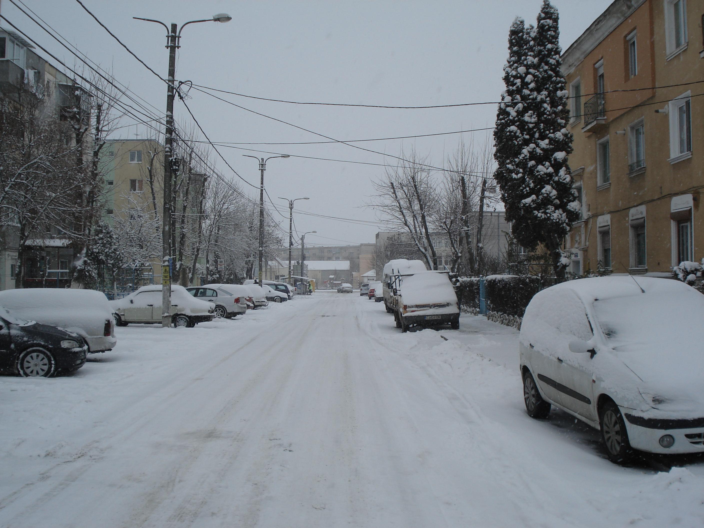 Iarna la Campia Turzii … ca pe olita