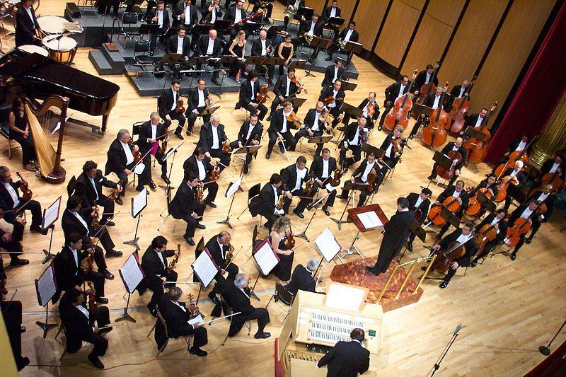 Evolutia instrumentelor in concerte simfonice