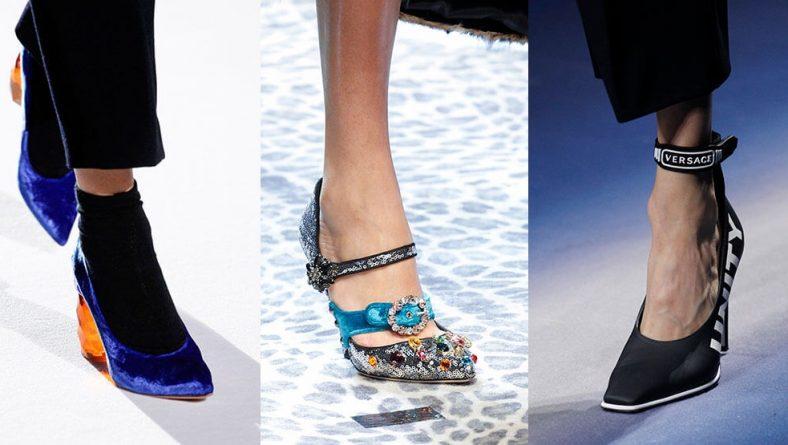 Pantofi la moda in sezonul de toamna – iarna 2017 – 2018