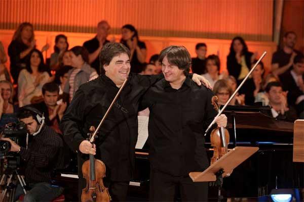Recital de vioara de exceptie la Campia Turzii