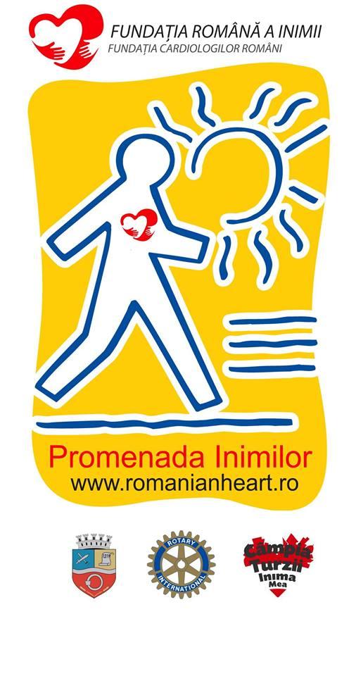 Rotary Câmpia Turzii sustine Promenada Inimilor
