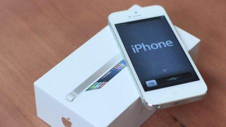 Ce sa faci cand cumperi un dispozitiv iPhone?