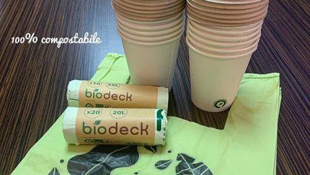 Ce sunt materialele plastice compostabile?