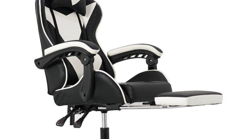Cel mai eficient scaun de gaming cu funcție recliner si suport de picioare