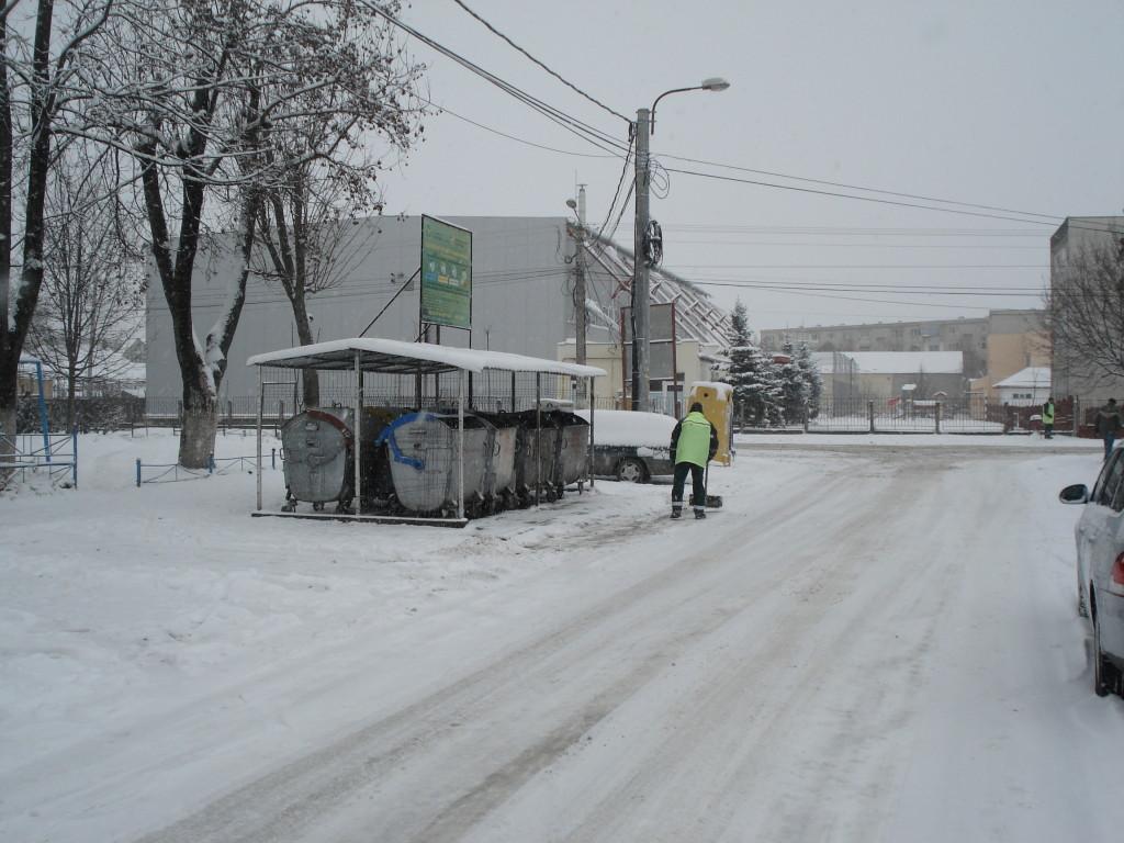 drumuri iarna la Campia Turzii
