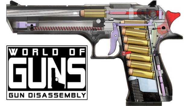 World of Guns: Gun Disassembly – cel mai popular joc tehnic