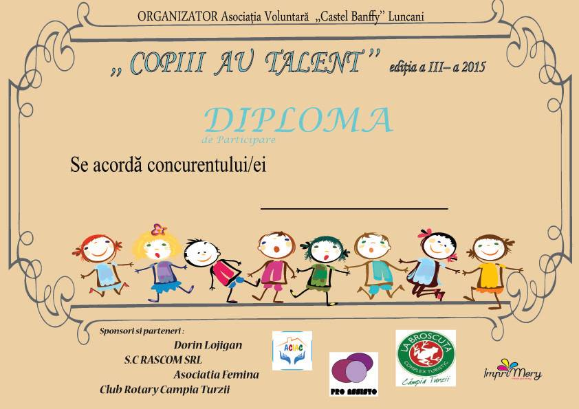 Copiii au talent editia 3 Campia Turzii
