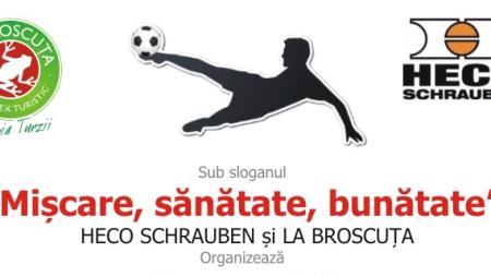 Heco Cup – eveniment caritabil la Baza Sportiva La Broscuta