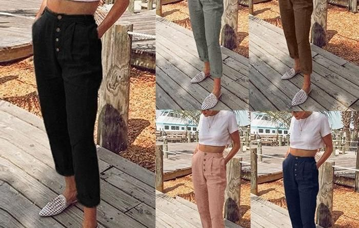 Pantaloni de dama pentru o garderoba completa!